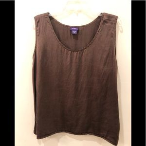 Resource plus size 20 SILK tank top blouse